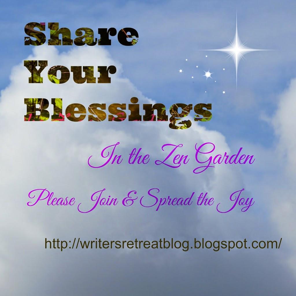 Gratituesday in the Zen Garden for June of 2015